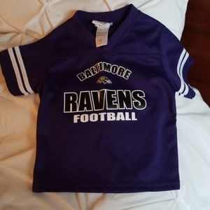 Baltimore Ravens Kids Shirt, Size 4T